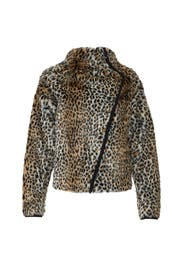 Leopard Long Jacket by Philosophy di Lorenzo Serafini