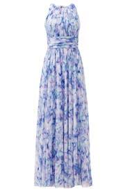 Water Lilies Maxi Dress by Badgley Mischka