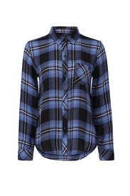 Hunter Plaid Button Up by Rails