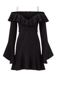 Black Poti Dress by Nicholas