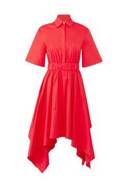 Red Cali Shirtdress by Petersyn