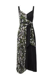 Camille Pleated Dress by DELFI Collective