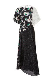Floral Polka Dot Dress by Jason Wu