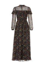 Floral Attire Midi Dress by BB Dakota