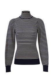 Blue Striped Sweater by La Vie Rebecca Taylor