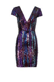 Zoe Sequin Dress by Dress The Population