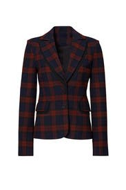 Plaid Blazer by Derek Lam 10 Crosby