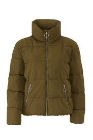 Olive Puffer Jacket by Slate & Willow