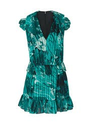 Mixed Ruffle Dress by Victoria Victoria Beckham