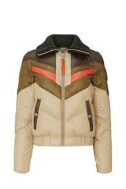 Military Green Ski Jacket by Coach
