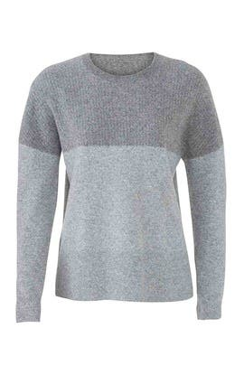 Wide Rib Shoulder Sweater by BROWN ALLAN