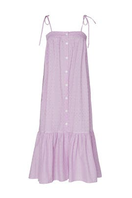 Lavender Eyelet Dress by MDS Stripes