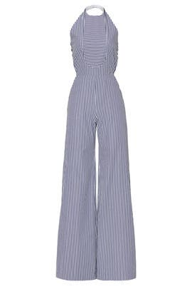 Knotted Halter Neck Jumpsuit by Martin Grant