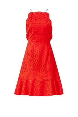 Red Waltz Dress by Sachin & Babi