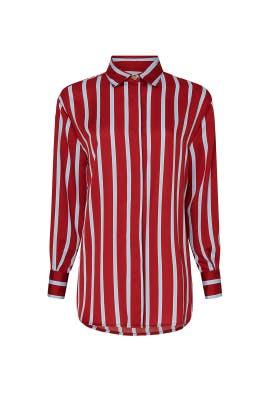 Red Stripe Top by Sweet Baby Jamie