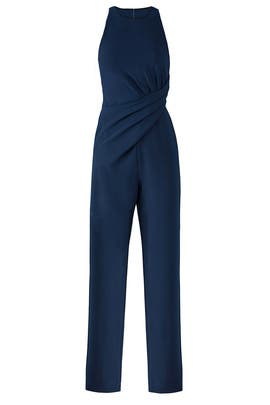 Navy Freya Jumpsuit by AQ/AQ