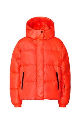 Red Ranja D Puffer Jacket by BOGNER FIRE + ICE