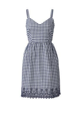 Eyelet Gingham Dress by Draper James