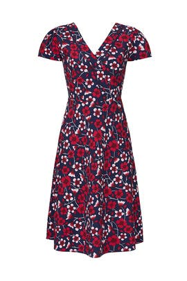 Yoke Trimmed Dress by Draper James