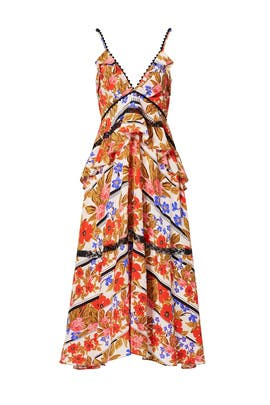 Floral Sasha Dress by Hunter Bell