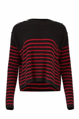 Striped Pullover by The Kooples