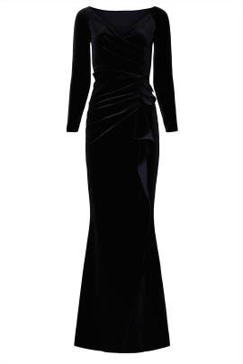 Velvet Silveria Gown by La Petite Robe di Chiara Boni