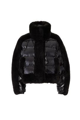 Daydreamer Puffer Faux Fur Jacket by Opening Ceremony