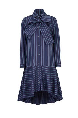 Amelia Stripe Dress by Osman