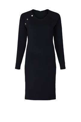 Black Raglan Maternity Dress by Stowaway