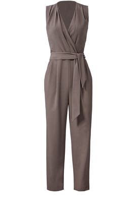 Mocha Amanda Jumpsuit by Slate & Willow