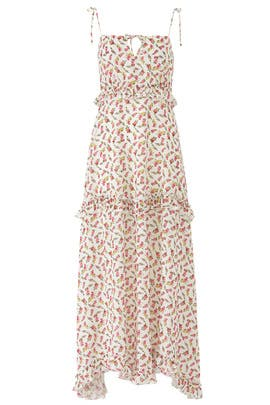 Ivory Rose Floral Maxi by Slate & Willow