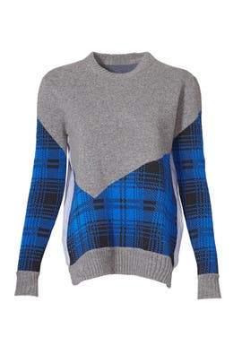 Plaid Combo Sweater by Thakoon Addition