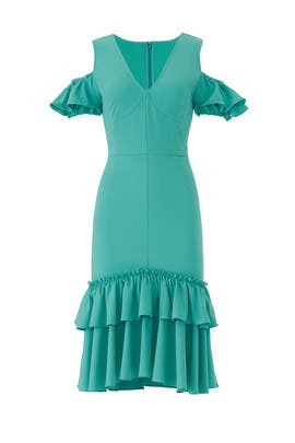 Teal Mermaid Dress by Tome
