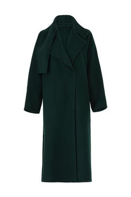 Cozy Long Wool Coat by VINCE.
