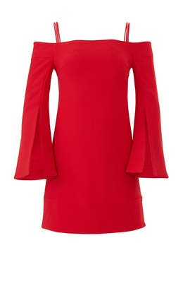 Red Tempo Dress by ELLIATT