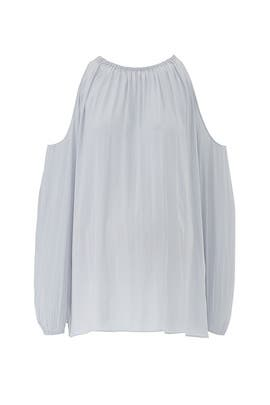 Silver Heather Maternity Top by FOR 2 by Ramy Brook