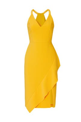 Yellow Sheath Dress by Harlyn