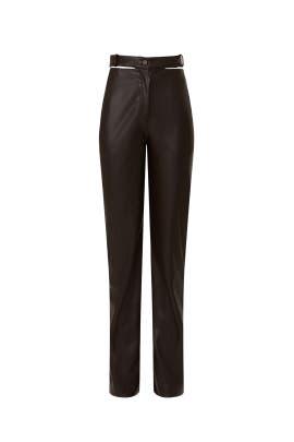 Amelia Faux Leather Pants by Jonathan Simkhai
