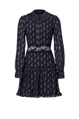 Paisley Shaza Mini Dress by Raoul