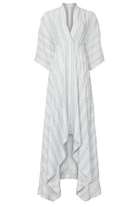 Striped High Low Maxi by Co