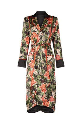 HAHT Solo Floral Robe by HAH