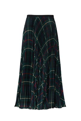 Plaid Pleated Skirt by Polo Ralph Lauren