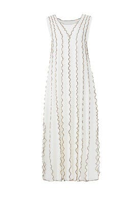 Cloudy White Midi Dress by See by Chloe