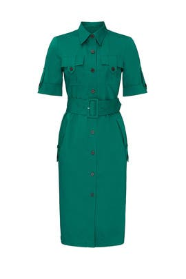 Evergreen Utility Dress by Derek Lam Collective