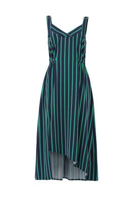Pierce Stripe Dress by EVIDNT