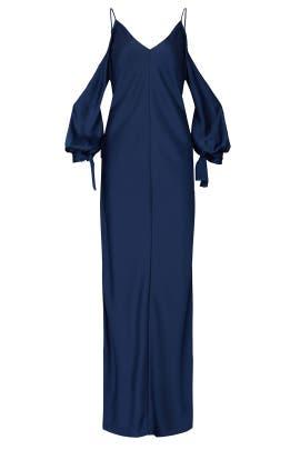 Satin Amalfi Gown by Juan Carlos Obando