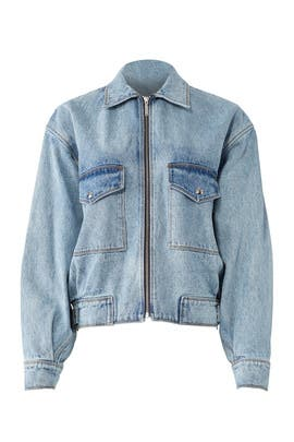 Oversized Denim Jacket by Jason Wu