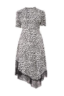 Spots Dress by LOST INK