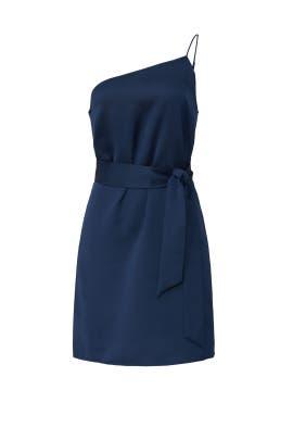 One Shoulder Tie Dress by Marissa Webb Collective