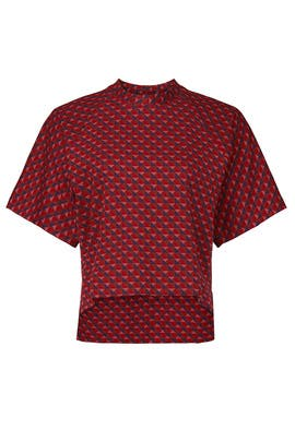 Triangle Cocoon T-Shirt by Rosetta Getty